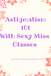 picture with inscription astigmatism 101