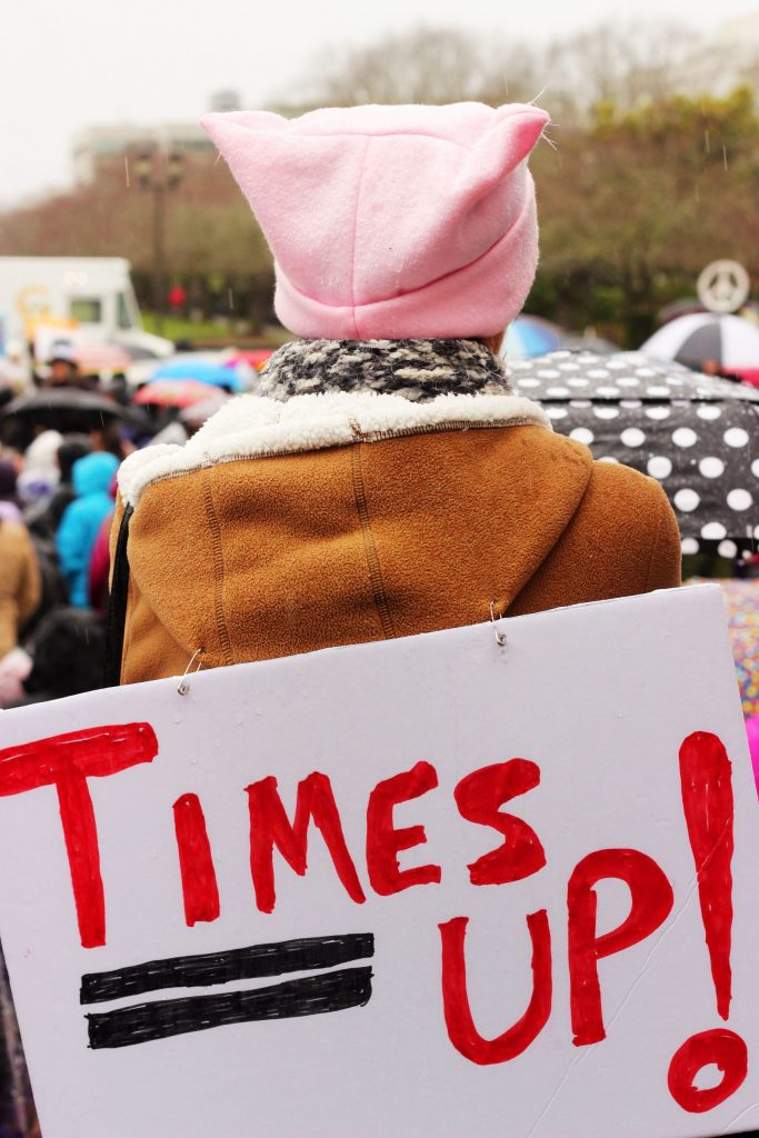 Time's Up Banner