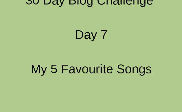 picture showing day 7 of 30 day blog challenge