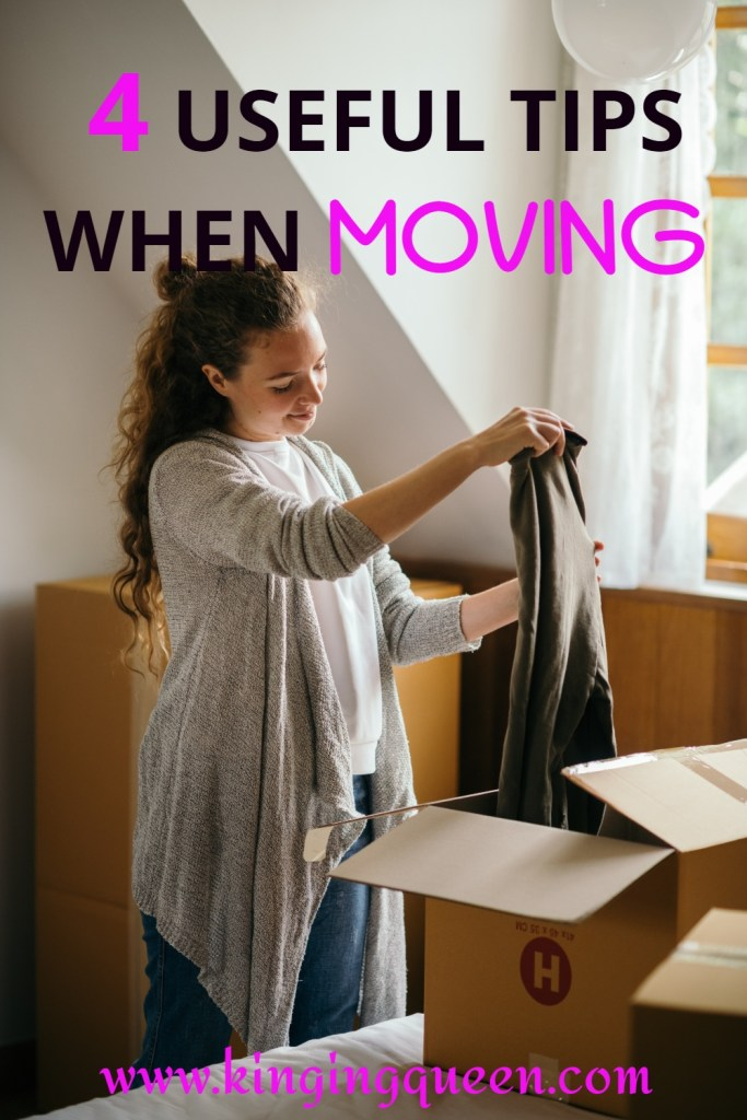 tips when moving