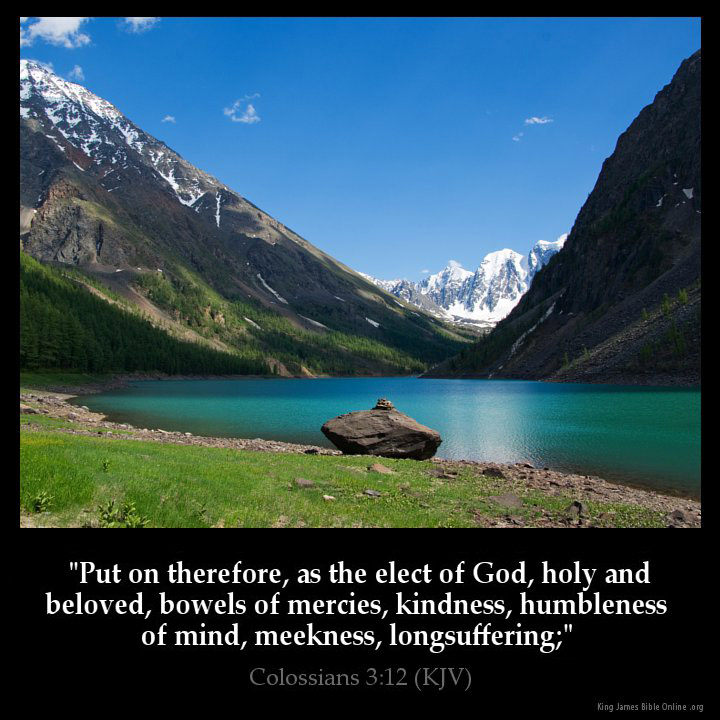 Colossians 312 Inspirational Image
