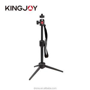 Best mini tabletop dslr and phone Kingjoy oem table tripod flexible adjustable tripod stand phone holder
