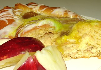 Apple King Cake