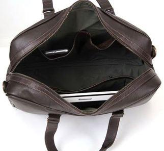 Crossbody Laptop Bag (LLP001) - Choc Brown