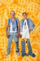 Kim and Paul wearing Nada van Dale4