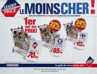 Publicité comparative de Leader Price