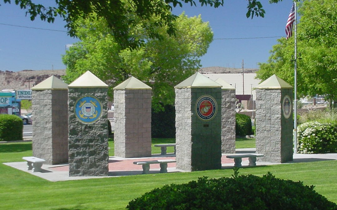 Kingman AZ Veterans Memorial Park Efforts To Add A Memorial Wall