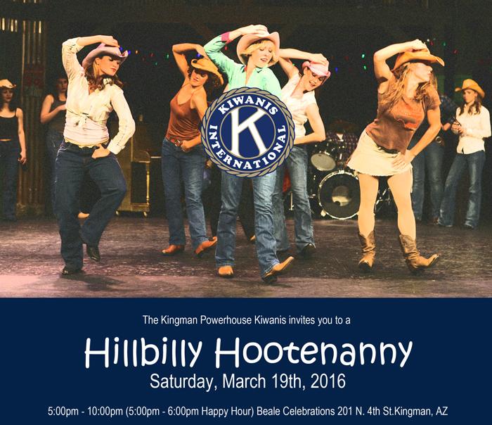 Kingman Powerhouse Kiwanis Hillbilly Hootenanny