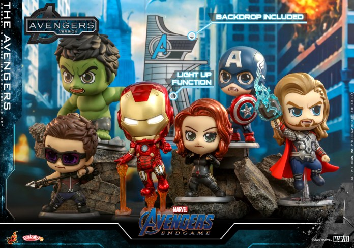 Hot Toys - A4 - The Avengers Cosbaby Set_PR1