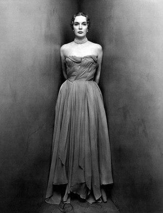 Mrs. William Rhinelander Stewart, by Irving Penn
