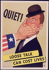 Careless Talk - Propaganda Posters during The Second World War