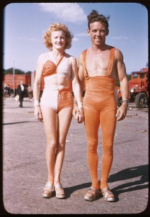 Ringling Brothers Barnum & Bailey Circus in Chicago, ca. 1940's