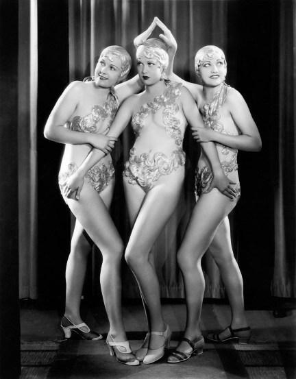 Chorus Girls, 1910s-1920s