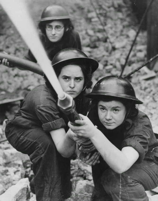 Female Firefighters, 1920s-1940s
