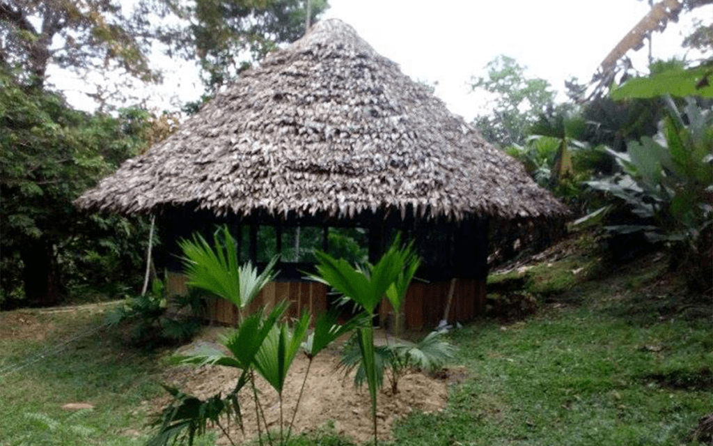 Our Ceremony House at King of Compassion Resorts Iquitos Peru Ayahuasca Kambo Sapo Frog Poison