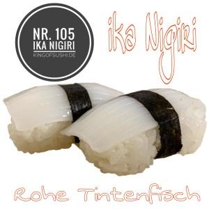 105 ika Nigiri Tintenfisch