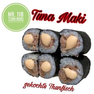 118 Tuna Maki