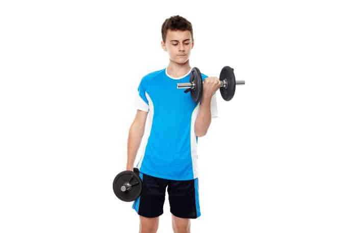 14 year old build muscle without supplements
