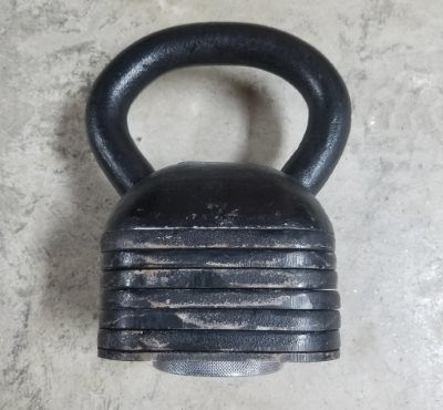 Ironmaster Kettlebell Review - Handle + 57.5 Lbs Add-on Kit