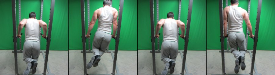 side-to-side dips