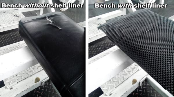 non-slip bench press