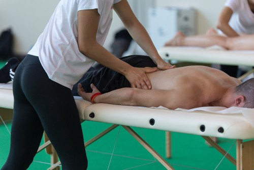 Jay Cutler massage