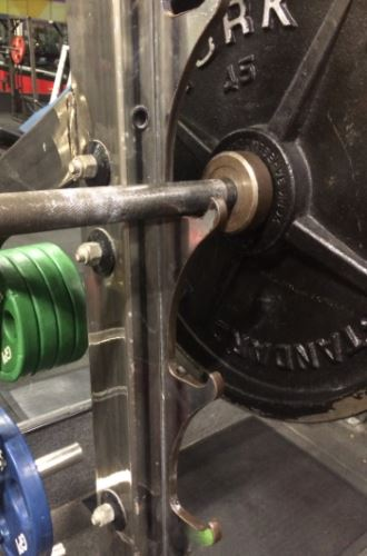 gun rack style j-cups for power rack