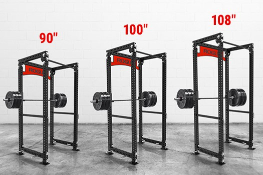 different power rack heights