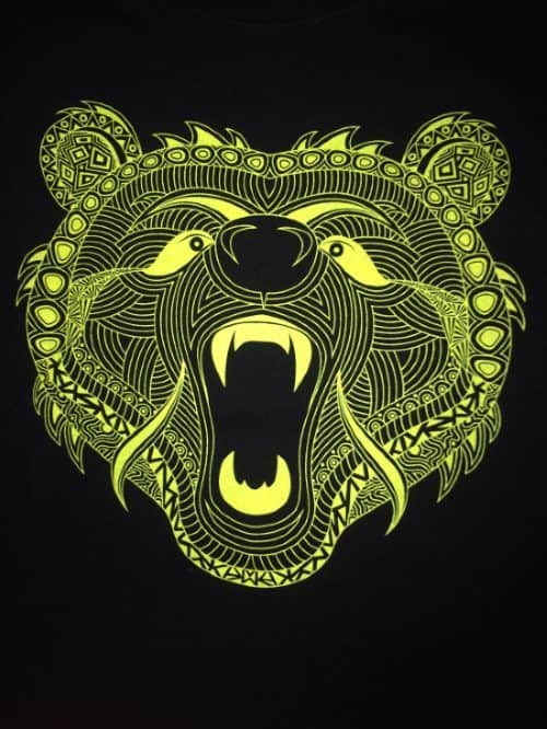 A7 Bar Grip Gnarly Bear Design