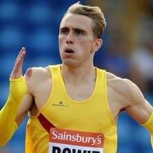 Jamie Bowie - Scottish 400m Relay Runner