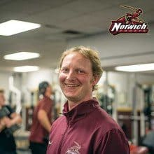 Jeff Kruger - Norwich University Head Strength & Conditioning Coach