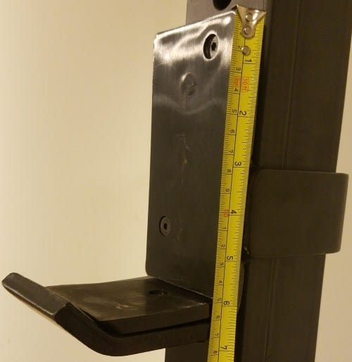 Height Measurement of X-3 J-hook