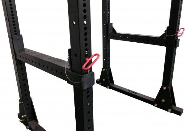 X-3 Flip Down Safety Bars - Both Sides Shown