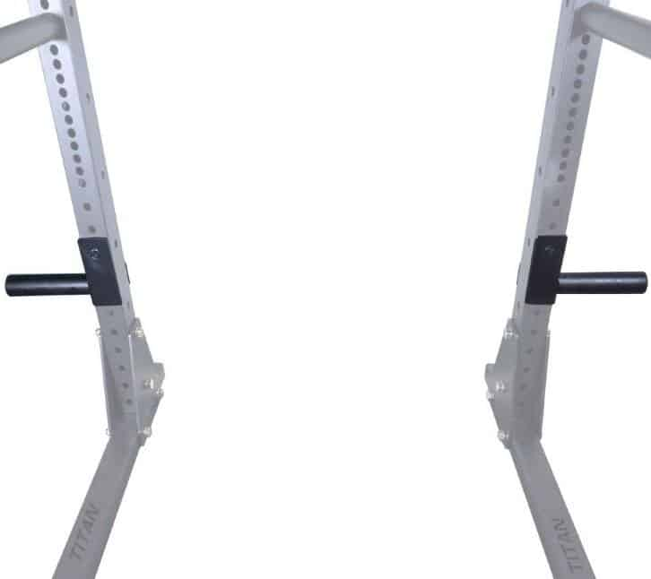 X-3 J-Hook Style Plate Holder (Shown on X-3 Squat Rack)