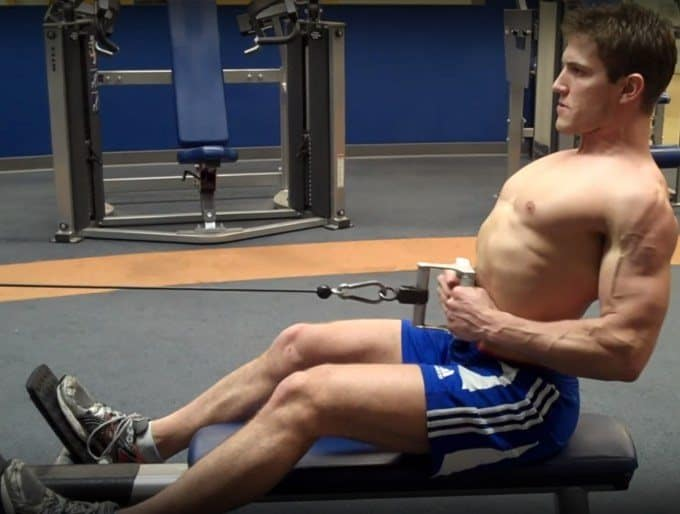 Seated Cable Row - Concentric