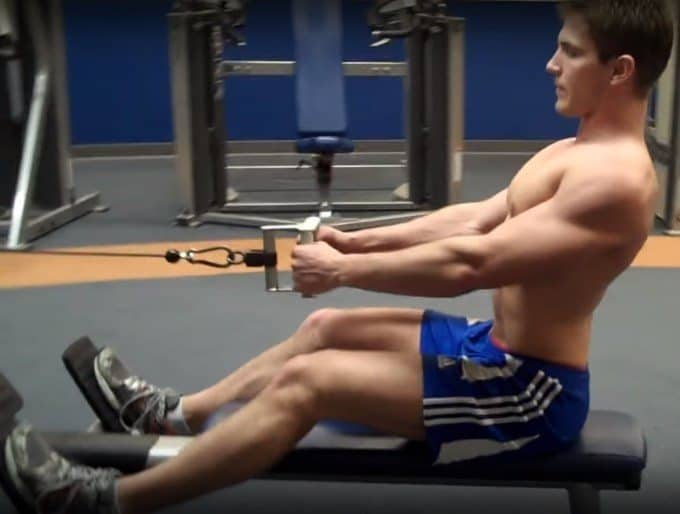 Seated Cable Row - Eccentric