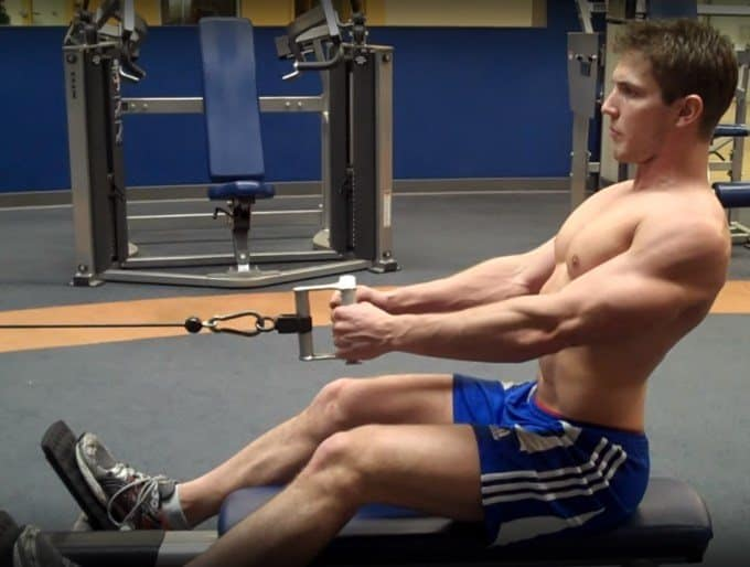 Seated Cable Row - Starting Position