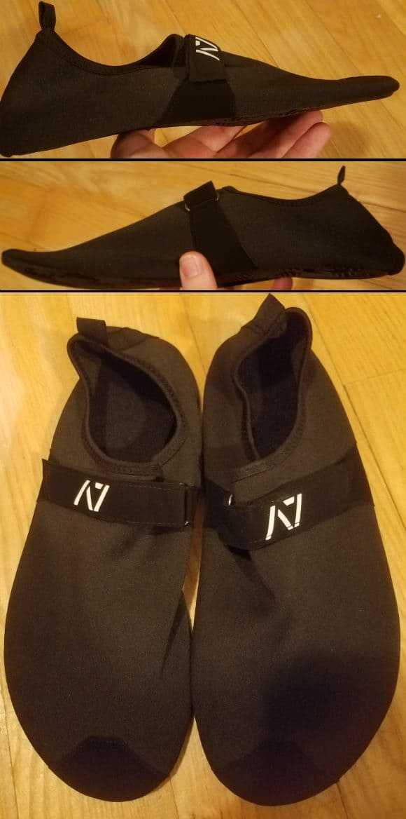A7 Soul Go Deadlift Slippers - Side View & Top View