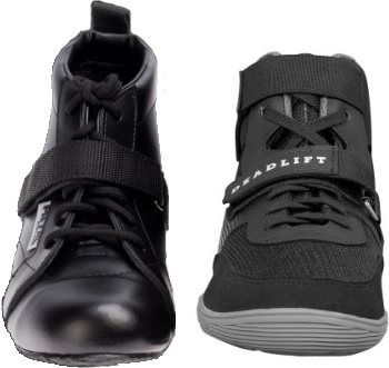 Deadlift Shoes with Metatarsal Strap
