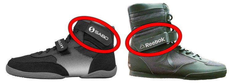 Deadlifting Shoes with Ankle Strap