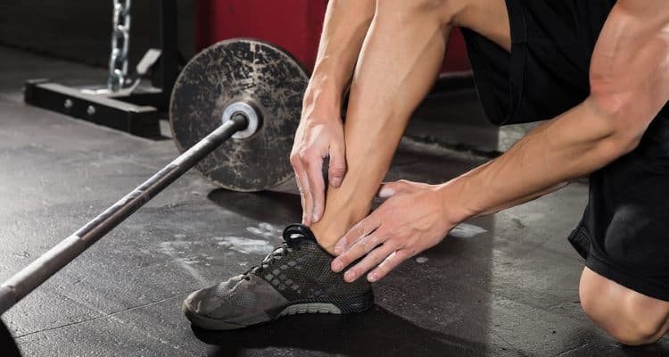 Deadlifting Shoes with Ankle Support May Prevent Ankle Pain