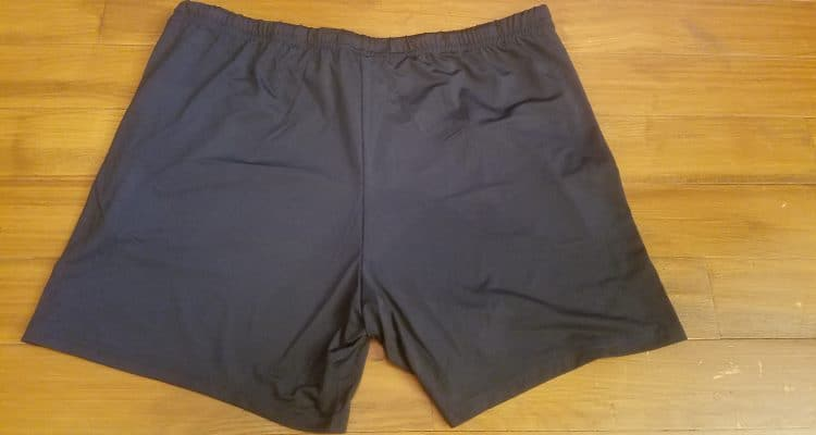 Jed North Fitted Lifting Shorts - Rear
