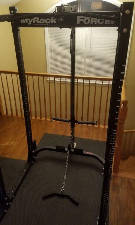 Force USA MyRack Lat Pull Down and Low Row Attachment