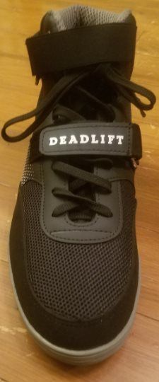 Wide Toe Box on SABO Deadlift Shoes