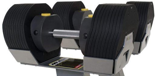 MX Select MX55 Adjustable Dumbbell Set - Closeup