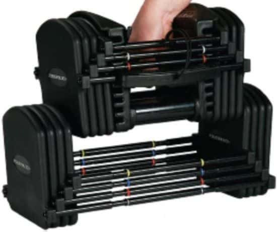 PowerBlock Pro EXP Stage 3 Adjustable Dumbbell Set