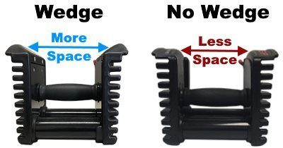 Wedge Handle vs Non-Wedge Handle Design