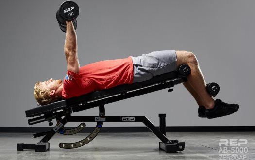 Rep AB-5000 - FID Adjustable Weight Bench