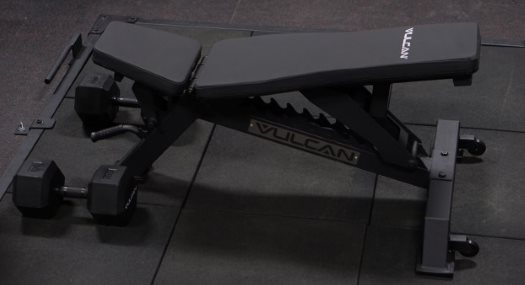 Vulcan Prime Flat to Incline Adjustable Bench