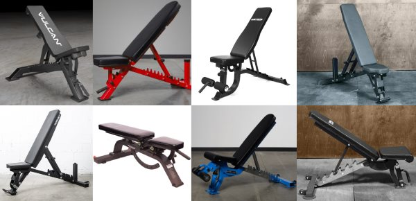 Tripod Style Adjustable Weight Benches